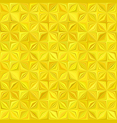 yellow geometric stripe mosaic pattern background vector image