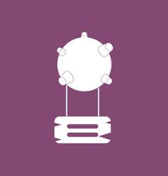 Icon satellite base vector