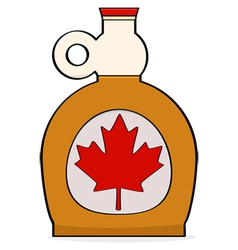 Maple syrup vector image vector image