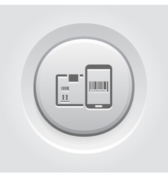 Mobile Tracking Services Icon vector image vector image