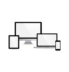 Set of gadget vector image