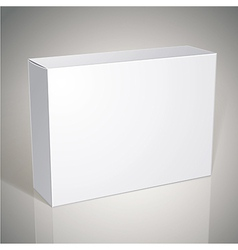 Package white box design template for your package vector image vector image