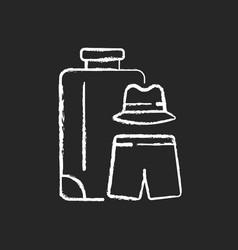 all boys travel chalk white icon on dark vector image