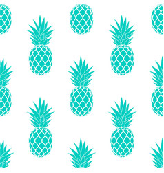 Ananas seamless pattern vector