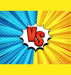 Comic versus bursting template vector