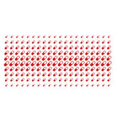 Medication granule shape halftone pattern vector