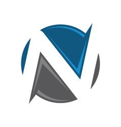 N Letter Logo vector