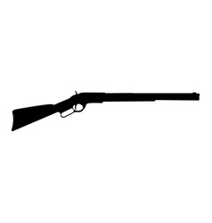 Rifle black color icon vector