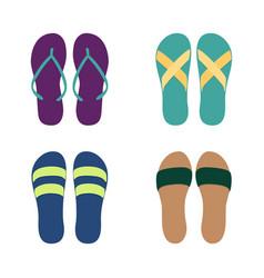 Set different flip flops vector