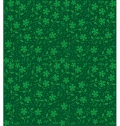 retro flower background vector image