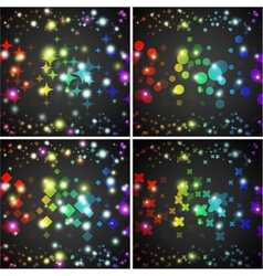 Abstract background Creative dynamic element vector image