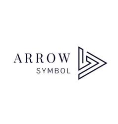arrow sign icon next arrow logo design vector image vector image