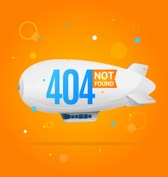 404 not found concept vector