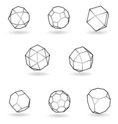 Cube elements vector