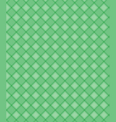 geometric shapes pattern green background vector image