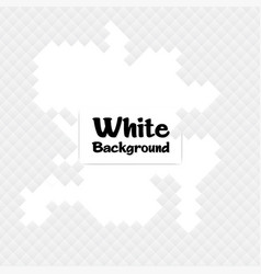 gray square mosaic white background image vector image