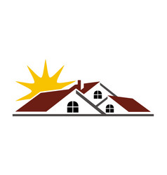 Real estate success vector