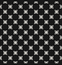 simple geometric floral seamless pattern abstract vector image