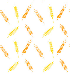 Whole grain natural organic background vector