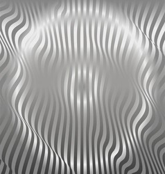 Aluminum abstract silver stripe pattern background vector