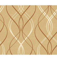 Abstract geometric wavy line pattern vector