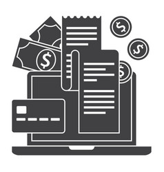 Internet banking concept vector