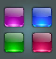 App buttons vector