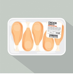 Chicken Drumsticks Pack vector image