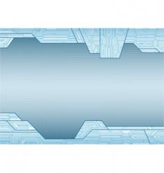 electronic style background vector image