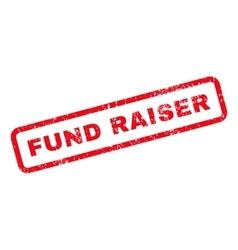 Fund Raiser Text Rubber Stamp vector