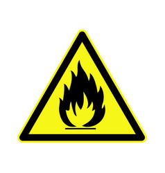 Highly flammable vector