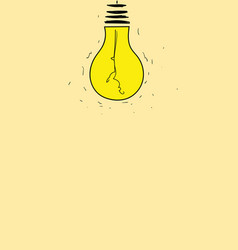 Older bulbs are being used to see it again vector