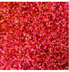 red geometric polygonal regular triangle tile vector image