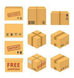 delivery service concept icon vector image vector image