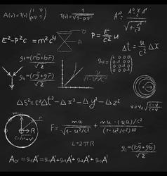 Science Board vector image vector image