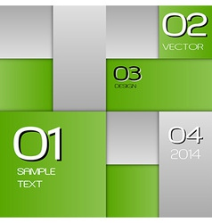 business squares green full page with text vector image vector image