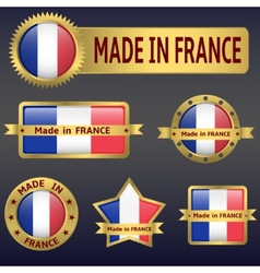 made in France vector image