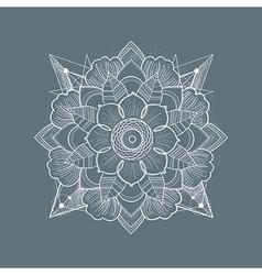 Set of Ornament round mandalas vector image vector image