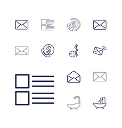 13 buttons icons vector