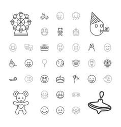 37 joy icons vector