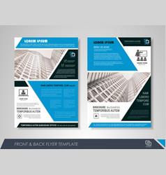 Business brochure vector