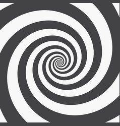 Hypnotic spiral background vector