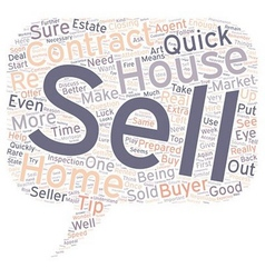 Quick sell tips text background wordcloud concept vector
