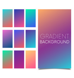 soft color background modern screen design vector image