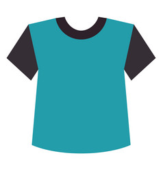 Sport shirt isolated icon vector