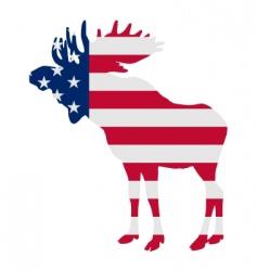 moose vector image vector image