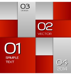 business squares red full page with text vector image vector image