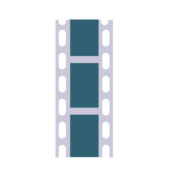 celluloid film strip icon vector image