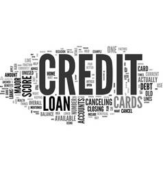 When not to cancel credit cards text word cloud vector