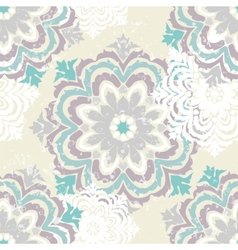 Snowflake winter pattern vector image vector image